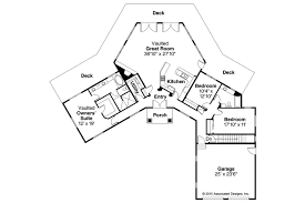 House Plans With Vaulted Great Room by Ranch House Plans Silvercrest 11 143 Associated Designs