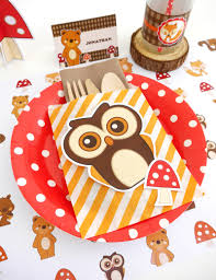 thanksgiving kids table ideas woodland birthday party kids table u0026 a surprise party ideas