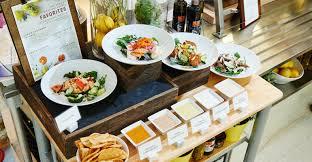 exemple am agement cuisine aramark migrates mediterranean b i concept to food management