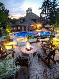 Backyard Patios With Fire Pits Exterior Design Amazing Modern Exterior At Backyard Patio Ideas