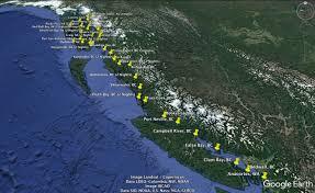 Desolation Sound Map Sail Alaska U2013 Andersons Abroad