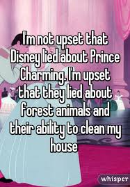 Clean My House M Not Upset That Disney Lied About Prince Charming I U0027m Upset That