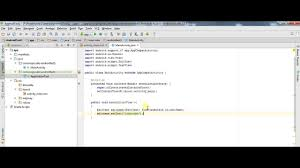 android studio button button click event creating tutorial in android studio