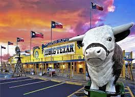 Big Rocking Chair In Texas Everything U0027s Bigger At The Big Texan Steak Ranch In Amarillo La
