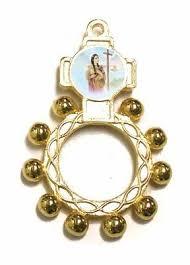 catholic rosary ring st kateri tekakwitha rosary ring discount catholic store