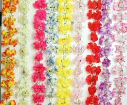 2m flower garlands silk simulation artificial azalea flower rattan