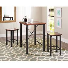 amazon com gracelove dinette sets for small spaces pub table set