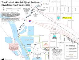 Colorado On A Map by Little Salt Wash Trail And Riverfront Trail Connector Maplets