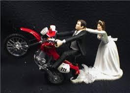 motorcycle wedding cake topper road dirt bike motorcycle wedding cake topper honda racing