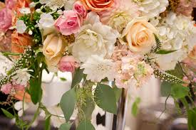 romantic style wedding in peach pearl and blush tobey nelson