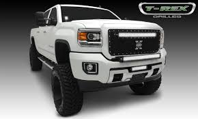 led lights for 2014 gmc sierra gmc sierra hd torch series led light grille 1 30 led bar formed