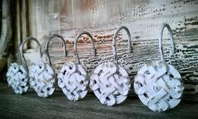 Shabby Chic Shower Curtain Hooks by Shabby Chic Shower Curtain Rings U2013 Jewelry