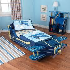 Airplane Toddler Bed   kidkraft blue airplane toddler bed free shipping today