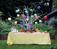 garden party decorations floral garland photo backdrop from a