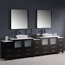 Bathroom Cabinets For Bowl Sinks Gym Equipment Fresca Torino 108
