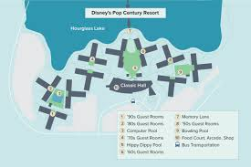 Walt Disney World Transportation Map by Disney U0027s Pop Century Resort Walt Disney World Undercover Tourist