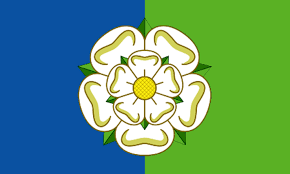 Yellow And White Flag East Riding Flag Andy Strangeway