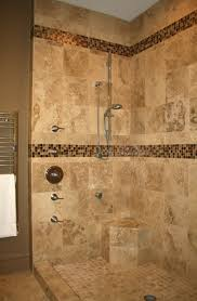 decorative small bathroom shower stalls designs with polka dot