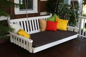 canapé suspendu canapé et lit suspendu pour décoration de terrasse et jardin ideeco