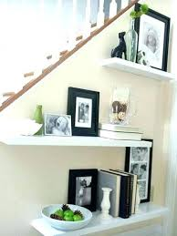 Staircase Decorating Ideas Wall Stairway Landing Decorating Ideas Glassnyc Co