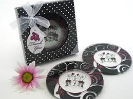 theme wedding favors canada 2 coaster favours wedding favors by do me a favor gifts canada