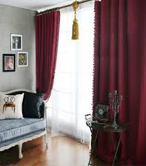 Burgundy Curtains For Living Room Unique Burgundy Curtain And Gold Drapery For Living Room Curtain