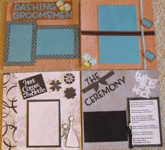 wedding scrapbook albums 12x12 12x12 premade wedding scrapbook wedding album memory book black