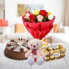 flowers and chocolate send a tempting online by giftjaipur in rajasthan
