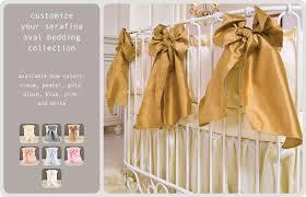 Oval Crib Bedding Oval Crib Bedding By Bratt Decor