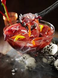 halloween party ideas food and drink halloween red wine sangria recipe