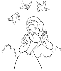 disney princess snow white coloring pages background coloring