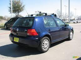 2004 Golf Tdi 2005 Indigo Blue Metallic Volkswagen Golf Gls Tdi 4 Door 4232151