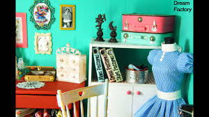 miniature retro sewing room youtube