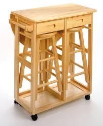 amazoncom winsome wood beachwood breakfast bar kitchen dining