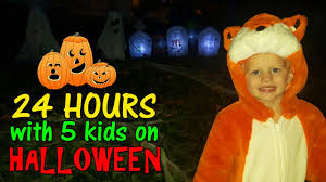 When Is Halloween In Usa 24 Hours With 5 Kids On Halloween In Washington Dc Youtube