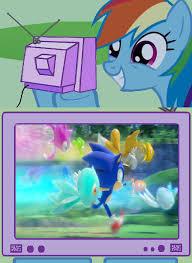 Rainbow Dash Meme - rainbow dash sonic colors by hedgehogninja94 on deviantart