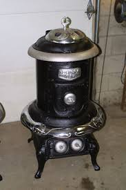 Pot Belly Stove With Glass Door by Antique Stoves Antique Price Guide