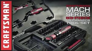 Crafstman by Craftsman Mach Series Mechanics Tool Sets Youtube