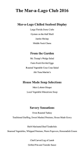 when was thanksgiving started donald trump u0027s thanksgiving feast features dishes named after him
