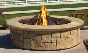 Large Firepits Fireplaces And Pits South County Rockery