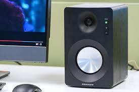 Review Bookshelf Speakers Crosley Radio S100 Review Digital Trends