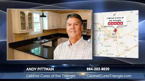 andy pittman of cabinet cures of the triangle finding a kitchen