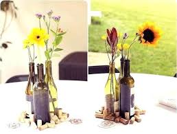 Wine Bottle Centerpieces Stunning You Never Thought Could Interior