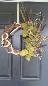 Hunting Themed Home Decor Best 25 Hunting Wreath Ideas On Pinterest Deer Baby Showers