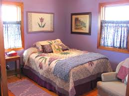 Bedroom Grey Carpet White Walls Amethyst Color Of Wall Paint Decorating In Modern Small Bedroom
