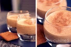 cuisine recette recette mousse aux spéculoos au thermomix en cuisine