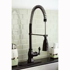 bronze pull down kitchen faucet oil rubbed bronze spiral pull down kitchen faucet inspirations and