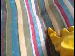 How To Clean Outdoor Furniture Cushions by How To Clean Patio Furniture Cushions Easily Using Gloves And