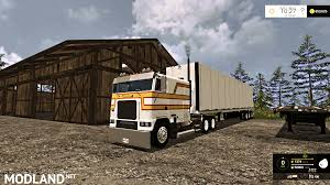 freightliner freightliner flb fs17 mod farming simulator 17