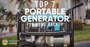 7 best portable generators for home backup reviews